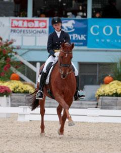 Kassandra Barteau and Toscano (Photo Sharon Packer)