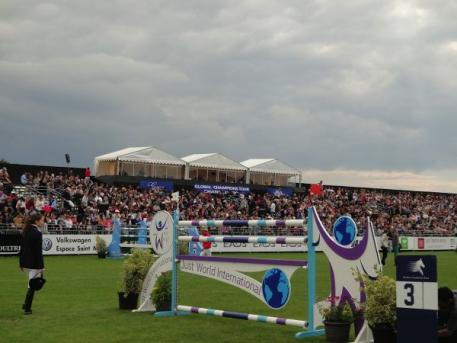 The Grand Prix Arena at Jumping Chantilly