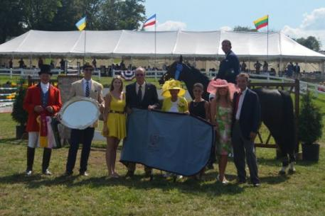 Charlie Jayne and Uraya win the ,000 Grand Prix of Indianapolis at Traders Point Hunt Charity Horse Show