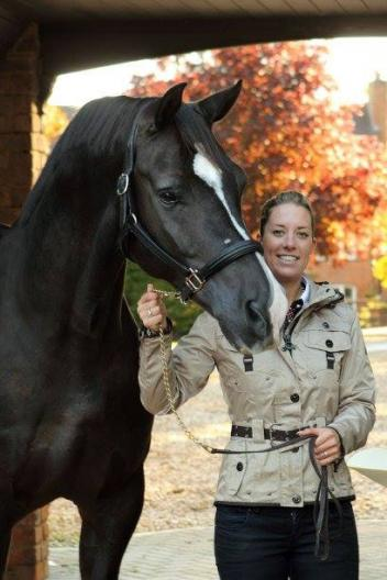 Olympic Gold Medalist Charlotte Dujardin will travel to California for her very first dressage symposium in the United States on March 8 & 9. (Photo: courtesy of Charlotte Dujardin)