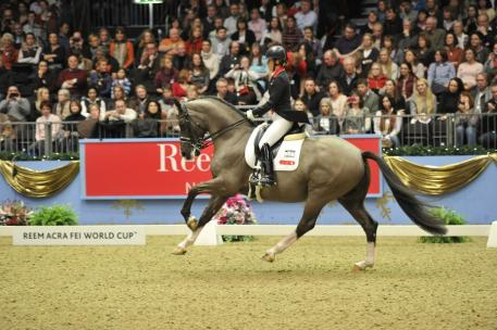 Charlotte Dujardin and Valegro are the leading combination of the FEI World Dressage Rankings. (Kit Houghton/FEI)