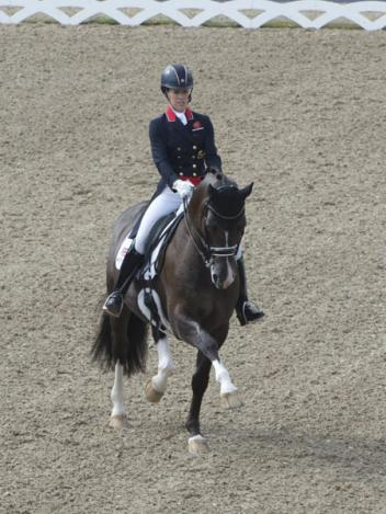 Charlotte Dujardin (GBR) and Valegro competing in last month's Blue Hors FEI European Dressage Championships at Herning (DEN) where the combination won three medals (Photo:© Kit Houghton/FEI)