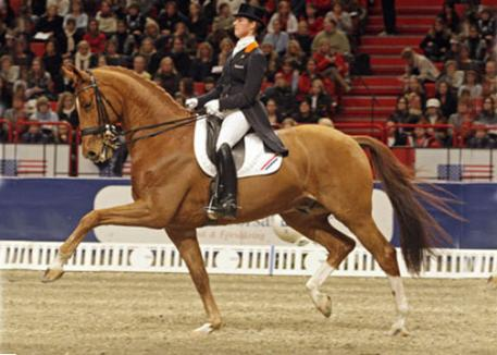The Reem Acra FEI World Cup™ Dressage 2010/2011 series proved to be a spectacular season for Adelinde and her powerful chestnut gelding Jerich Parzival. (Photo:Roland Thunholm/FEI)
