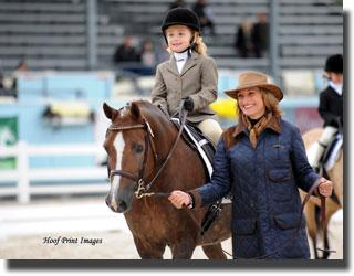 The leadline class is a super popular event. (Photo: Hoof Print Images)