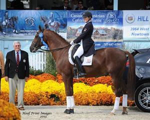 Ashley Holzer & Jewel's Adelante (Photo: Hoof Print Images)
