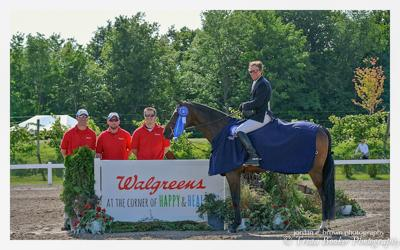 Lavish and David Beisel with the Walgreens sponsors
