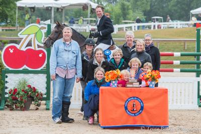 David Beisel shares his celebration with Ammeretto's owners, family and friends.