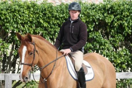 Declan McParland was the winner of the Neue Schule Clear Round Bonus during the ESP Holiday Series.