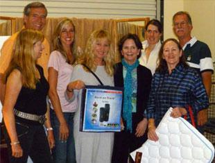 Photo left to right- Mary Ellen Sencer, Ralph Hodges, Krystal Shingler, Kelley O'Shea Duncan, KATHY CONNELLY, Olivia LaGoy Welts, Evelyn Parkes,Doug Hundt.