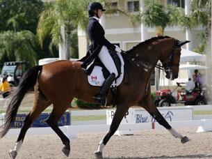 Shannon Dueck and her lovely mare Ayscha