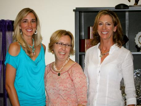 From left to right, Krystalann Shingler, Michele Hundt, and Shannon Dueck at the ShowChic Shop Talk.
