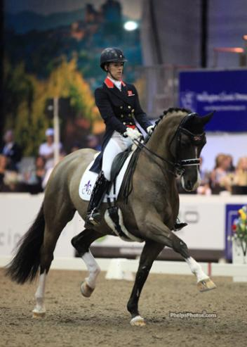 Charlotte Dujardin (GBR) and Valegro, a ten year old KWPN gelding by Negro owned by Carl Hester and Roly Luard. (Photo: Mary Phelps - phelpsphotos.com)