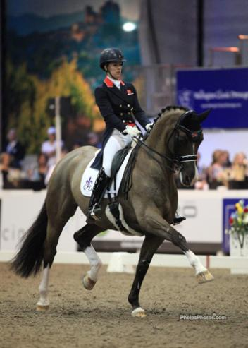 Charlotte Dujardin (GBR) and Valegro - KWPN by Negro at the World Dressage Masters Palm Beach 2012 - (Photo: Mary Phelps - phelpsphotos.com)