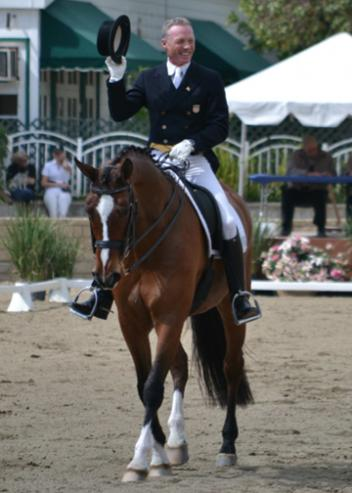 Jan Ebeling and Rafalca at the 2011 Festival of the Horse (Photo: Jennier Keeler)