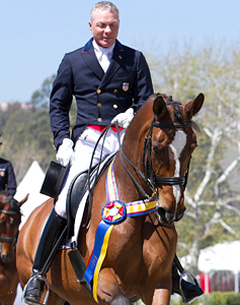 "Olympian Jan Ebeling and ""Rafalca"" earned two wins in their return to international competition at the Festival of the Horse CDI 3*/Y/J. (Photo: Amy McCool)"