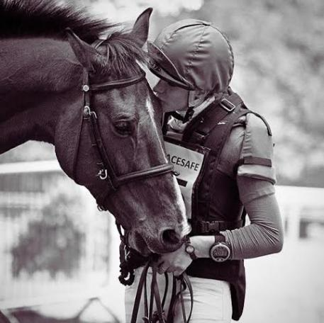 Emily King and Charlemagne. Photo courtesy of Liz Knowler.