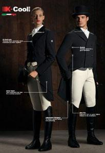 Horse and Rider Boutique will showcase the new chic soft shell Equiline shadbelly at the World Dressage Masters 2013