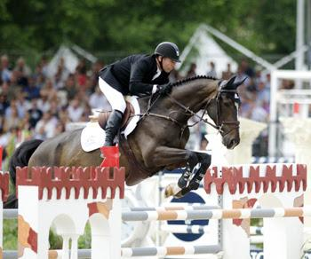 Eric Lamaze claimed his second consecutive five-star grand prix victory, the €200,000 Grand Prix of Rome, on Sunday, May 25, riding Zigali P S, owned by Artisan Farms. Photo by NoelleFloyd.com