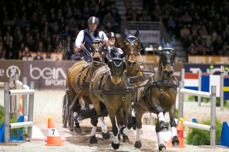 Boyd Exell (AUS) won the FEI World Cup™ Driving Final 2014 held at Bordeaux (FRA) for the fifth time in his career. Photo Rinaldo de Craen/FEI