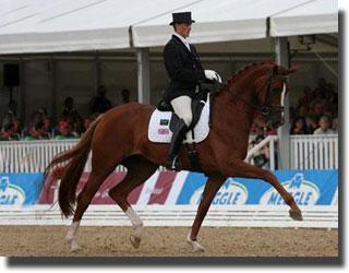 Michael Eilberg and Worldchampion Woodlander Farouche (Photo: Marjon Hoen)