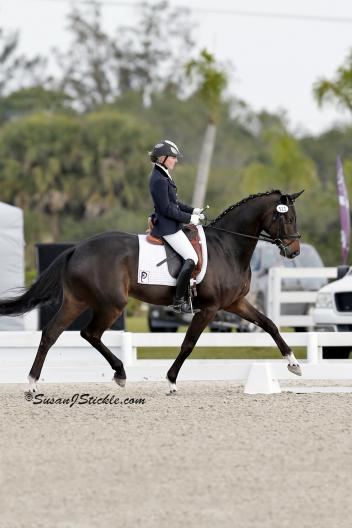Fashion Designer OLD and Nadine Buberl during the 30th Annual Palm Beach Dressage Derby. (Photo: SusanJStickle.com)
