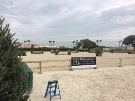 Hunter competitors at the Florida Gold Coast Shows are enjoying brand new ESI footing in the main hunter ring!