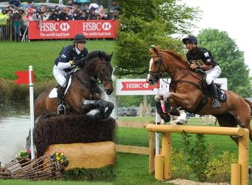 William Fox-Pitt (GBR) and (right) Andrew Nicholson (NZL) - the HSBC Rankings and HSBC FEI Classics™ series leader - have set the scene for the most thrilling running yet of the Mitsubishi Motors Badminton Horse Trials (GBR) on 3-6 May, fourth leg of the HSBC FEI Classics™ 2012/2013. (Photo: Kit Houghton/FEI).