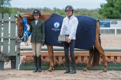 Pride with rider Francesca Dildabanian and trainer Molly Ashe