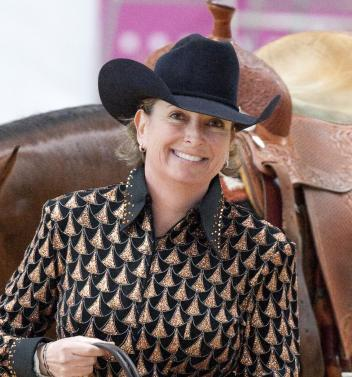Author and Reining Champion Francesca Sternberg