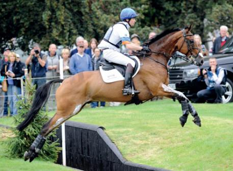 Francis Whittington and Sir Percival III at Burghley 2011