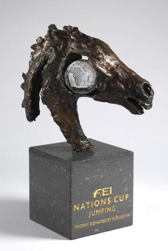 The new Furusiyya FEI Nations Cup™ Jumping trophy will be claimed by the winning team at the Final of the inaugural Furusiyya 2013 season in Barcelona, Spain next week.