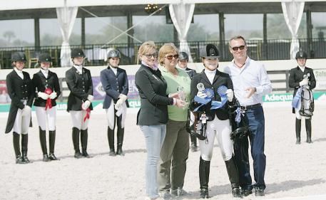 2013 Florida Youth Dressage Championships Photo: DressageDaily