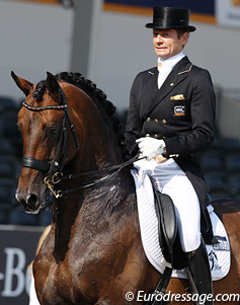 Edward Gal and Romanov (Photo: © Astrid Appels - Eurodressage.com)