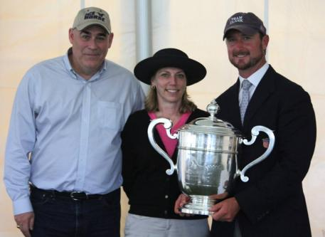 L-R Eric Williams, Ice Horse Owner Julie Garella and Chester Weber  Photo ©PicsofYou.com
