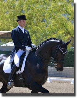 Olympic Dressage Rider Guenter Seidel will be a special guest at the upcoming CDS Championships.  (Photo: Jennifer M. Keeler)