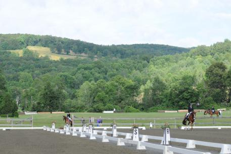 Green Mountain Horse Association venue in beautiful Vermont