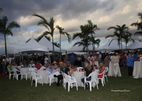 The auction took place after the FEI Jog for the 2012 Palm Beach Dressage Derby at Equestrian Estates. The grounds include many newly added features including upgraded footing and an elegant beer garden. (Photo: Mary Phelps for Phelpsphotos.com)