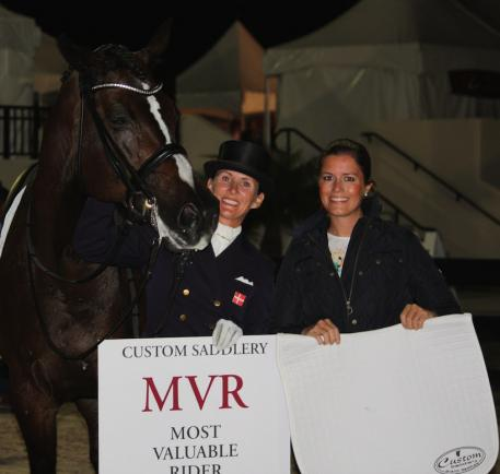 Custom Most Valuable Rider Mikala Gundersen and My Lady with Cora Causmann