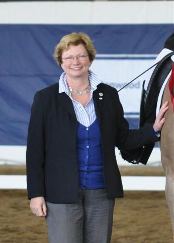 Hanneke Gerritsen - Overall Course Director of the FEI Para-Equestrian Dressage Judge Course (Photo: Lindsay McCall)