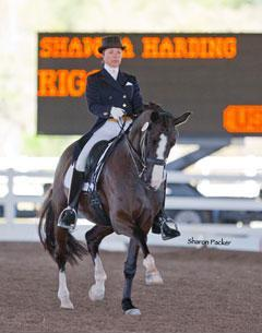 Shawna Harding and Rigo (Photo Sharon Packer)