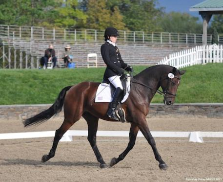 Rebecca Hart and Lord Ludger (Photo©2011 Lindsay Y McCall for the USPEA).
