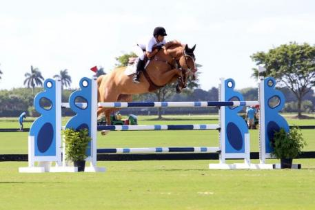 Hector Florentino and Anemone's Vicky. Photo by: Kendall Bierer/Phelps Media Group