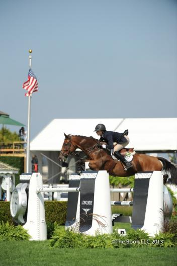 Show jumping will be represented by Arkansas and Hillary Simpson on Saturday, October 5.