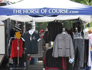 Vendor Booth at the USEF Festival of Champions (Photo: Tigger Montague)