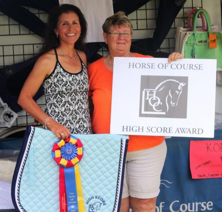 Lisa Hyslop(left) and Beth Haist of The Horse of Course.