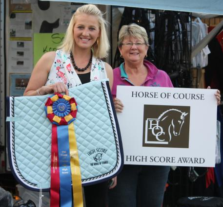 Cassie Barteau(left) and Beth Haist of the Horse of Course