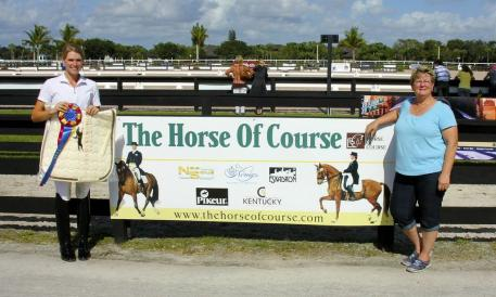 Michele Sizemore (left) and Beth Haist of The Horse of Course