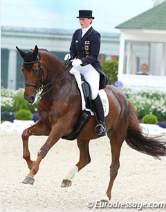Anabel Balkenhol and Winci at the 2012 CDIO Aachen (Photo: © Astrid Appels)