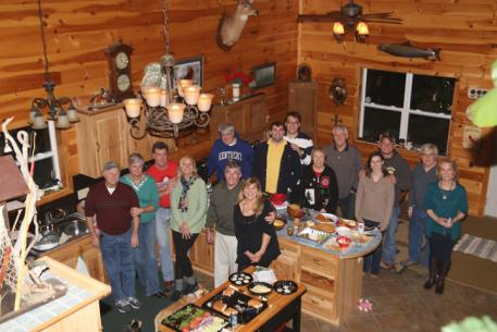 Family and friends gather for some holiday cheer at our Kentucky location.