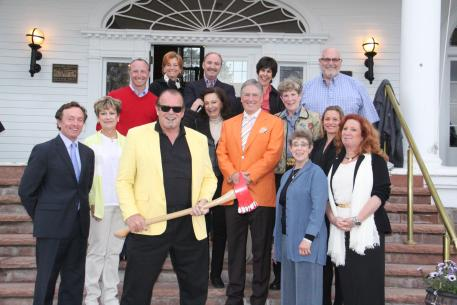 """The Stanley was featured in The Shining.  The Paragon CDI***  officials dined there Friday evening and met """"Jack Nicholson"""" outside on the patio! (Photo: Mike Tomlinson)"""